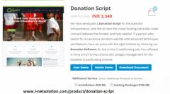 Donation Script - Crowdfunding Software
