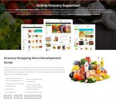 Grocery Supermarket Ecommerce Software