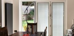 Install Bi-Fold Doors With Integral Blinds