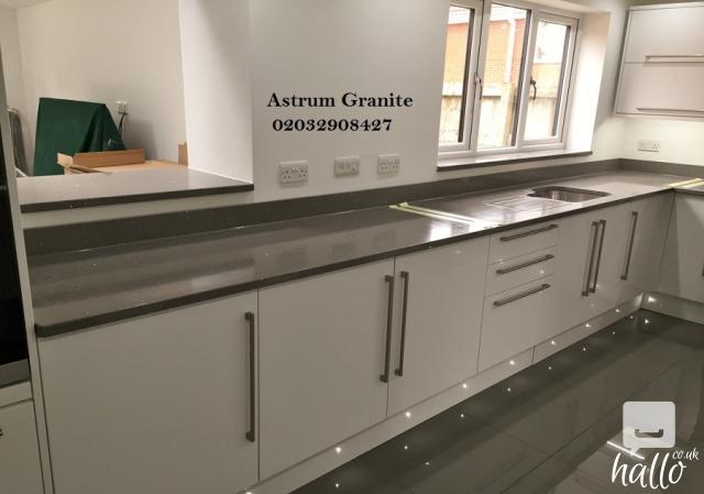 Bianco eclipse granite kitchen worktop at affordable for Affordable furniture london uk