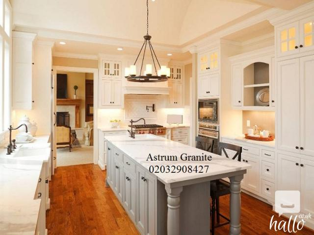 Buy Arabescato Vagli Marble Kitchen Worktop in London 4 Image