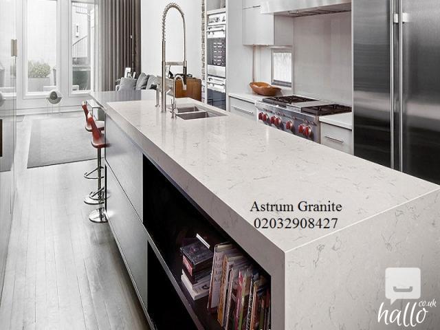 Buy Arabescato Vagli Marble Kitchen Worktop in London 5 Image
