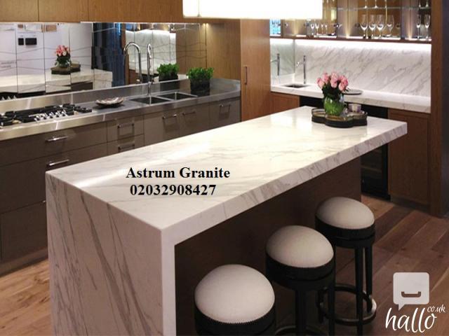 Buy Online Arabescato Corchia Marble Kitchen Worktop UK 3 Image