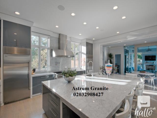 Buy Online Arabescato Corchia Marble Kitchen Worktop UK 4 Image