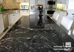 Buy Agatha Black Granite Kitchen Worktop at Reasonable