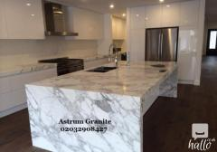 Buy Top Quality Marble & Quartz Kitchen Worktops