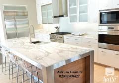Buy Arabescato Vagli Marble Kitchen Worktop For