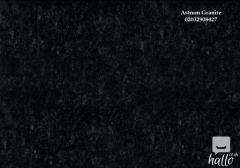 Absolute Black Honed Granite Kitchen Worktop In