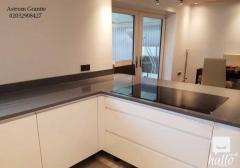Buy Grey Mirror Quartz Worktop For Kitchen & Hom