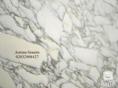 Buy Arabescato Vagli Marble Kitchen Worktop in London