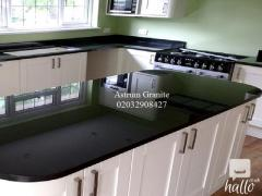 Absolute Black Granite Kitchen Worktop at Affordable