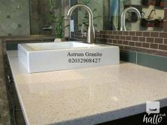Buy Online Best White Galaxy Quartz Kitchen Worktop