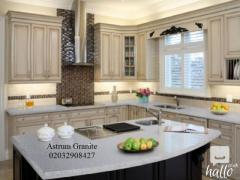 Snow Quartz Kitchen Worktop at Best Price in London
