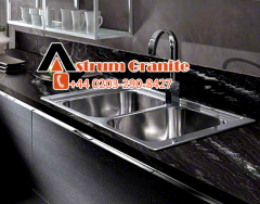 Agatha Black Worktops in affordable price for customer