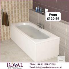 Royal Bathrooms are Best Option for Straight Bath