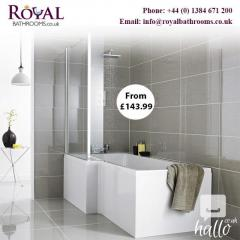 Qualities Of Premier L Shaped Shower Bath With F