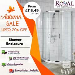 Autumn Sale upto 70 off on Shower Enclosures