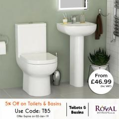 Amazing Extra 5 Off On Christmas For Toilts And