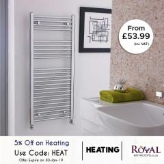 70 Percent Off Sale On Bath Heating  Extra 5Perc