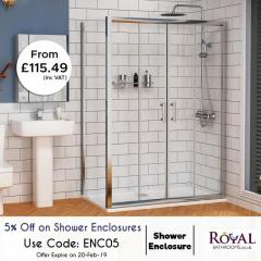 Winter Sale On Shower Enclosure Suite Upto 70Per