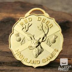 Red Deer Highland Games Custom Medals