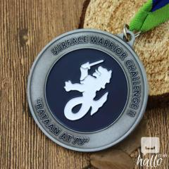 Surface Warrior Challenge Custom Medals