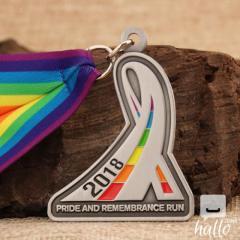 2018 Pride Running Medals