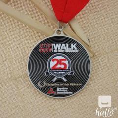 Walk To Stop Diabetes Custom made medals