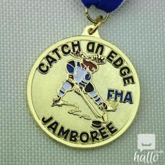 Hockey Games Custom Gold Medals