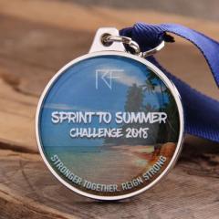 Spring to Summer Challenge Custom Medals
