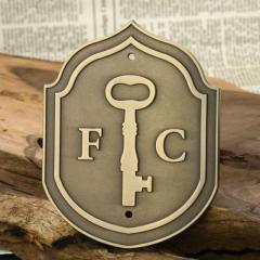 Custom Medals - F.C Soccer Medals
