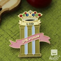 Area Custom Lapel Pins
