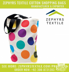Cotton Shopping Bags Producing By Zephyrs Textile