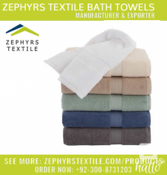 Zephyrs Textile is Manufacturing Oekotex Towel