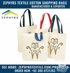 Zephyrs Textile is Producing Imprinted Natural Cotton