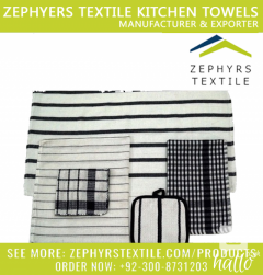 Zephyrs Textile is Manufacturing Cleaning Cloth Set