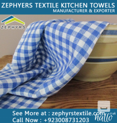 Zephyrs Textile is Manufacturing Cotton Linen Tea Towel