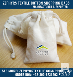 Zephyrs Textile is Manufacturing Cotton Muslin Drawstri