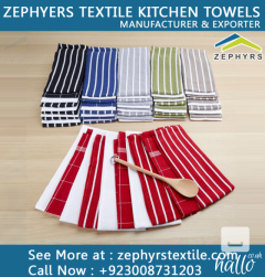 Zephyrs textile is Manufacturing Coton Kitchen Towel