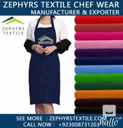 Zephyrs Textile Is Manufacturing Full Bib Apron