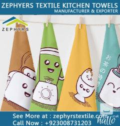 Zephyrs Textile Is Supplying Printed Kitchen Tow