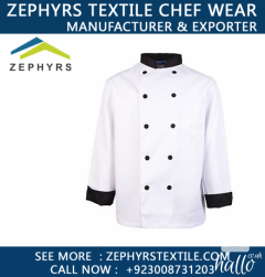 Zephyrs Textile are Supplying Chefs Jackets