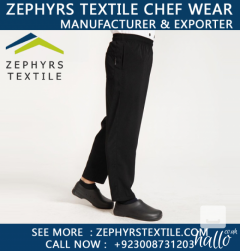 Zephyrs Textile are Supplying Hotel Chef Pants