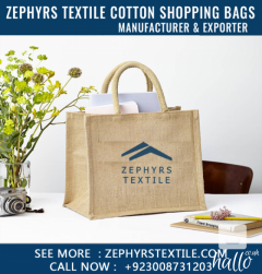 Zephyrs Textile Providning Natural Cotton Tote Shopping