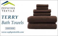 Zephyrs Textile  Terry Bath Towels 100 Cotton