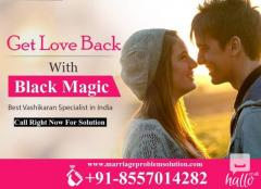 Get lost love back by black magic.