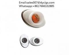 Quartz Wax Ceramic Dual Coil Replacement Core Atomizer