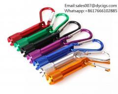 Portable Mini LED Flashlight Keychain Aluminum Alloy