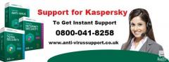 Get accurate solution to Kaspersky issue at 08000418285