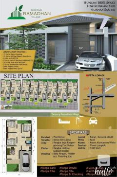 sales house in bogor indonesia start from 35000
